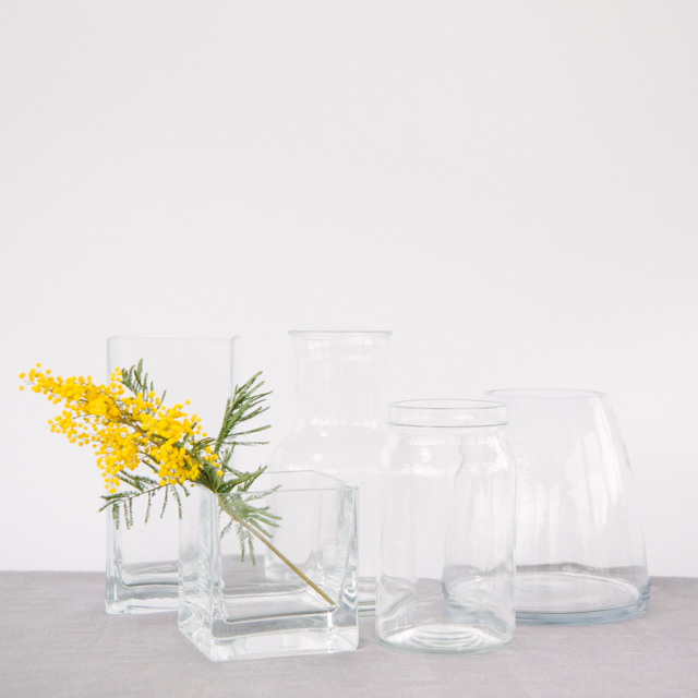 VASES - ASSORTED SHAPES - small