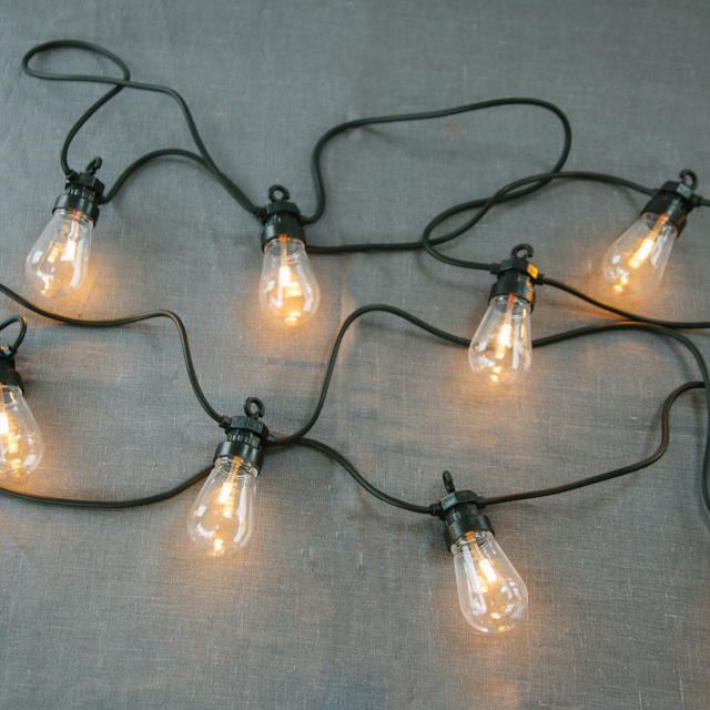 FEATURE LIGHTING - FESTOON LIGHTING - CLEAR BULB