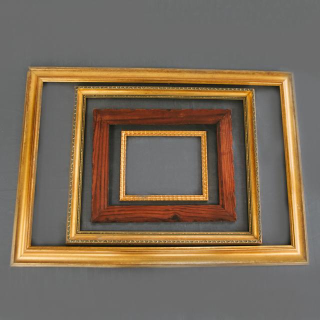 FRAMES - GOLD, WOODEN, WHITE & BLACK - medium, large & x-large
