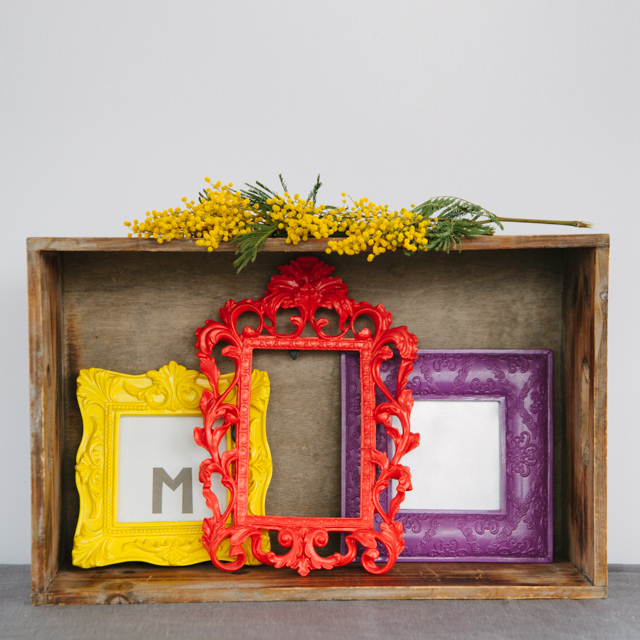 FRAMES - ASSORTED COLOURS - small, medium & large