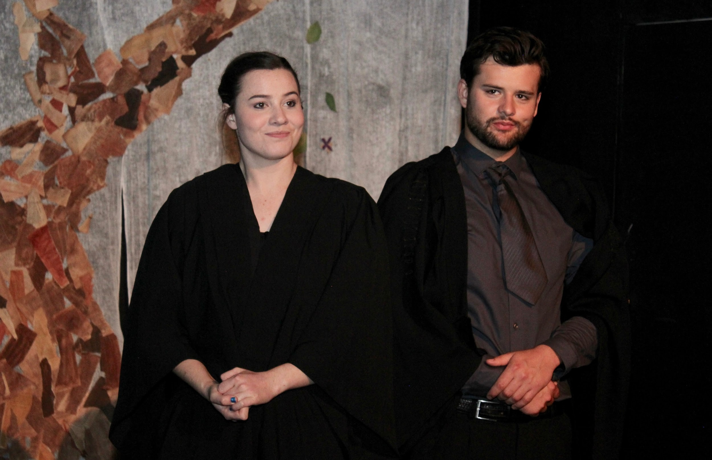Greenberg and Crotty show their diverse acting abilities -
