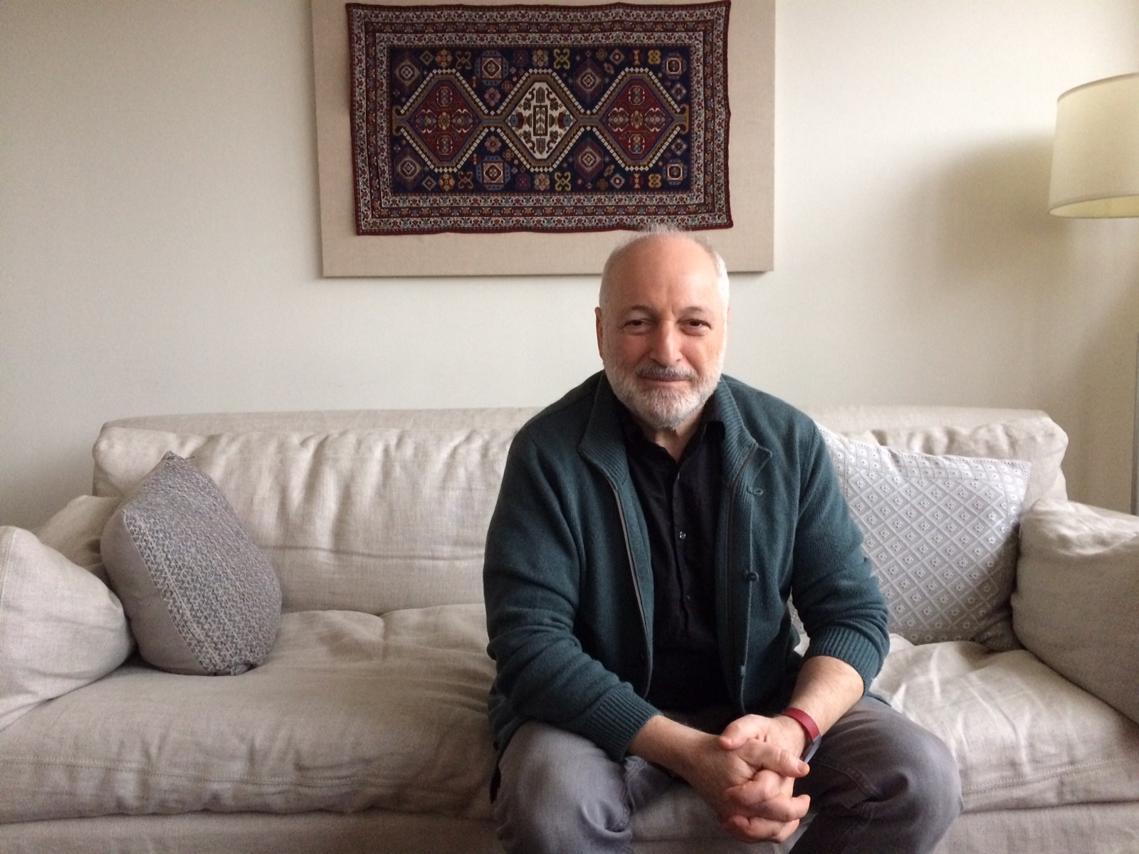 Interview: André Aciman - Michael Sun