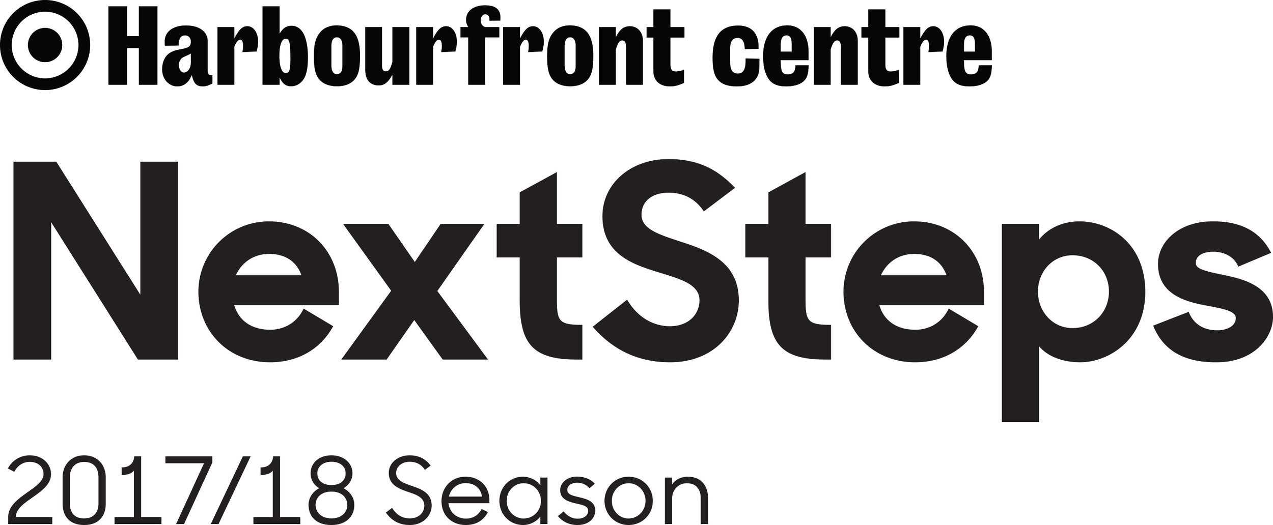 Harbourfront Centre NextSteps Logo black on white.jpg