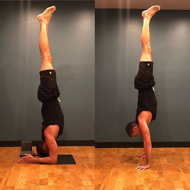 Yoga Method - Creative and intelligent ways to sequence towards peak postures.  Coming at you- a bunch of different mini-viny's and prop heavy ways to approach forearm balance and handstand. #forearmbalance #handstand #armbalance