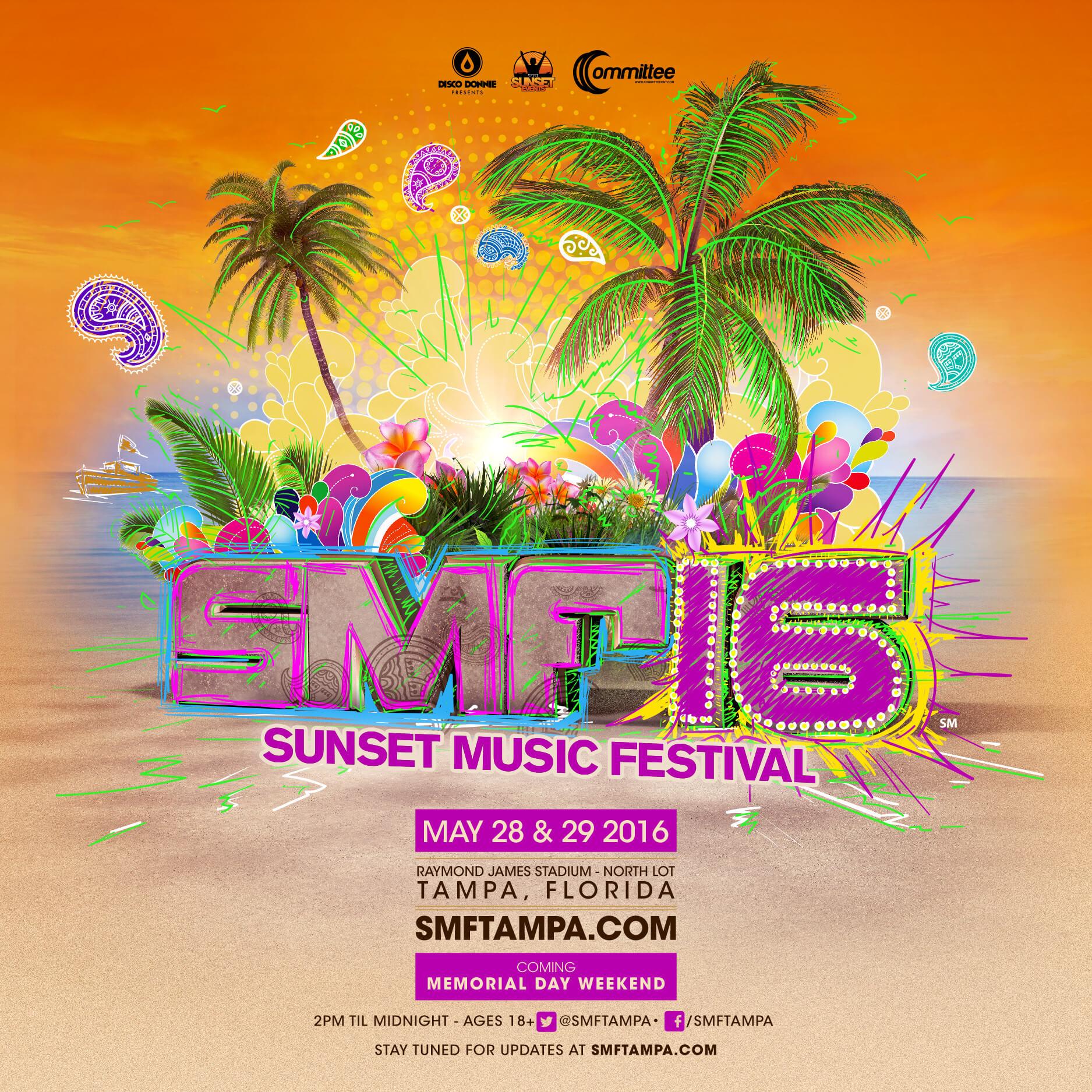 Sunset Music Festival Logo