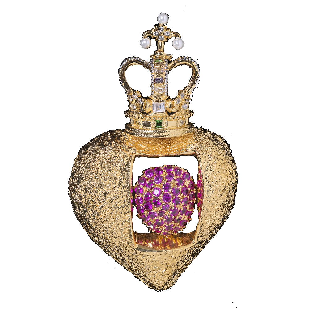 The Royal Heart Pendant