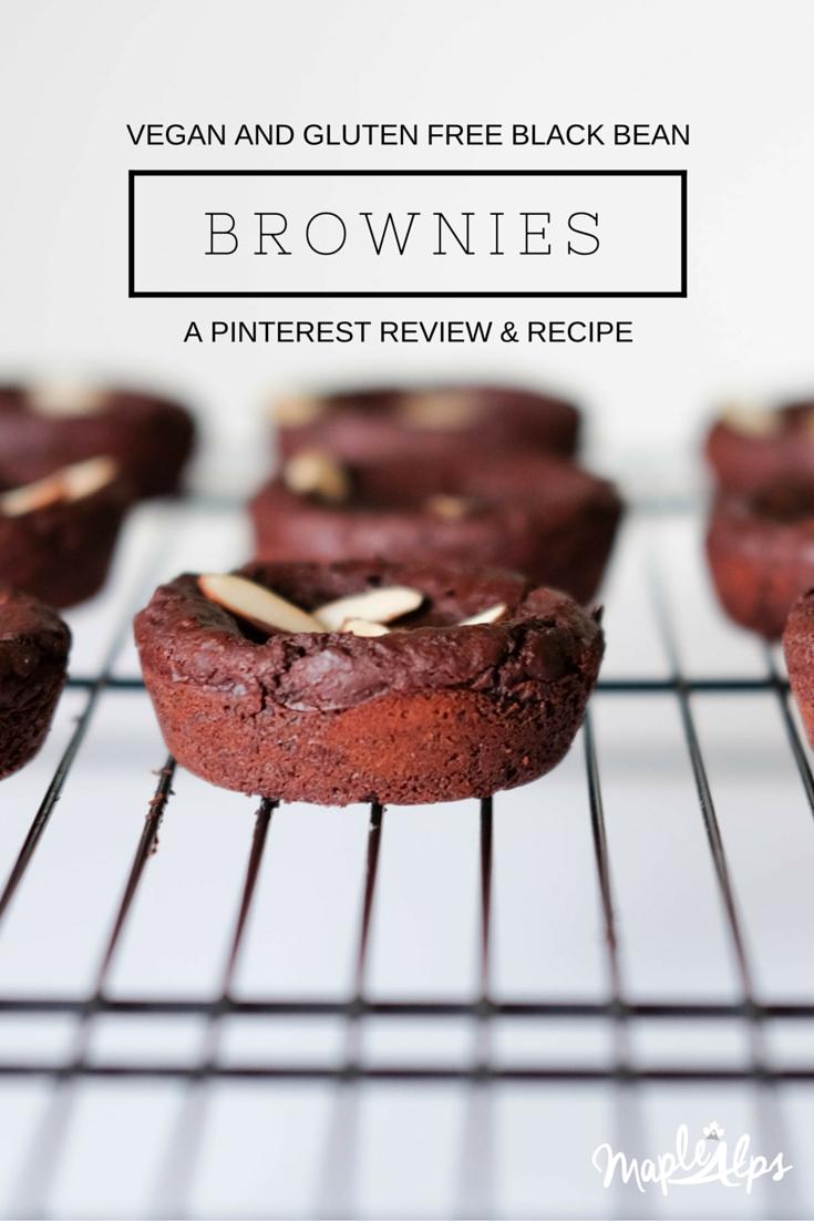 Vegan Gluten Free Black Bean Brownies: A Pinterest Review