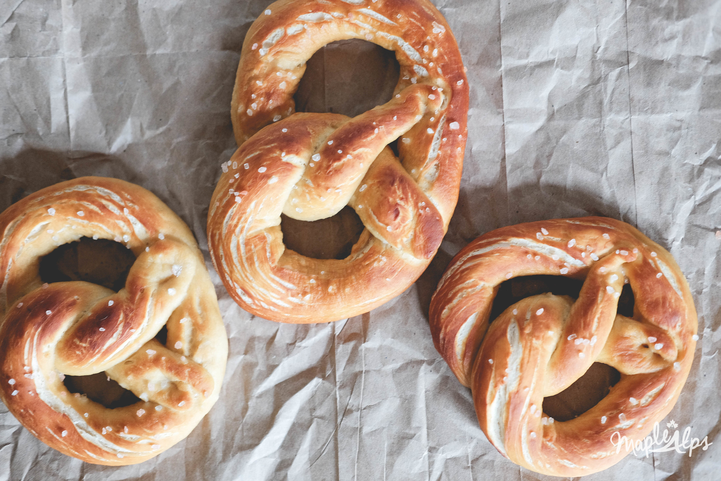 Maple Alps Vegan Soft Pretzels