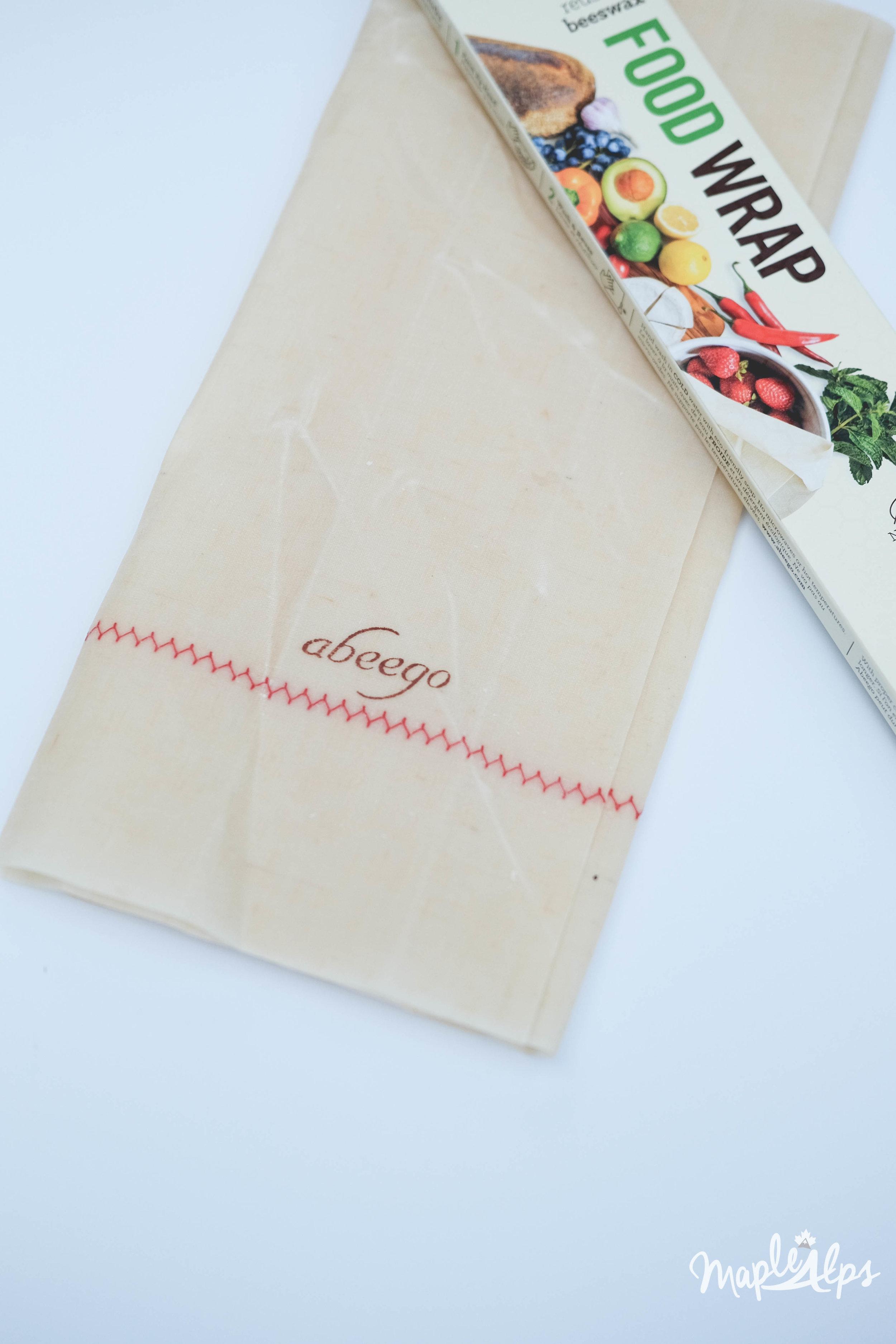Beeswax Wrap Food Wrap UncommonGoods | www.maplealps.com