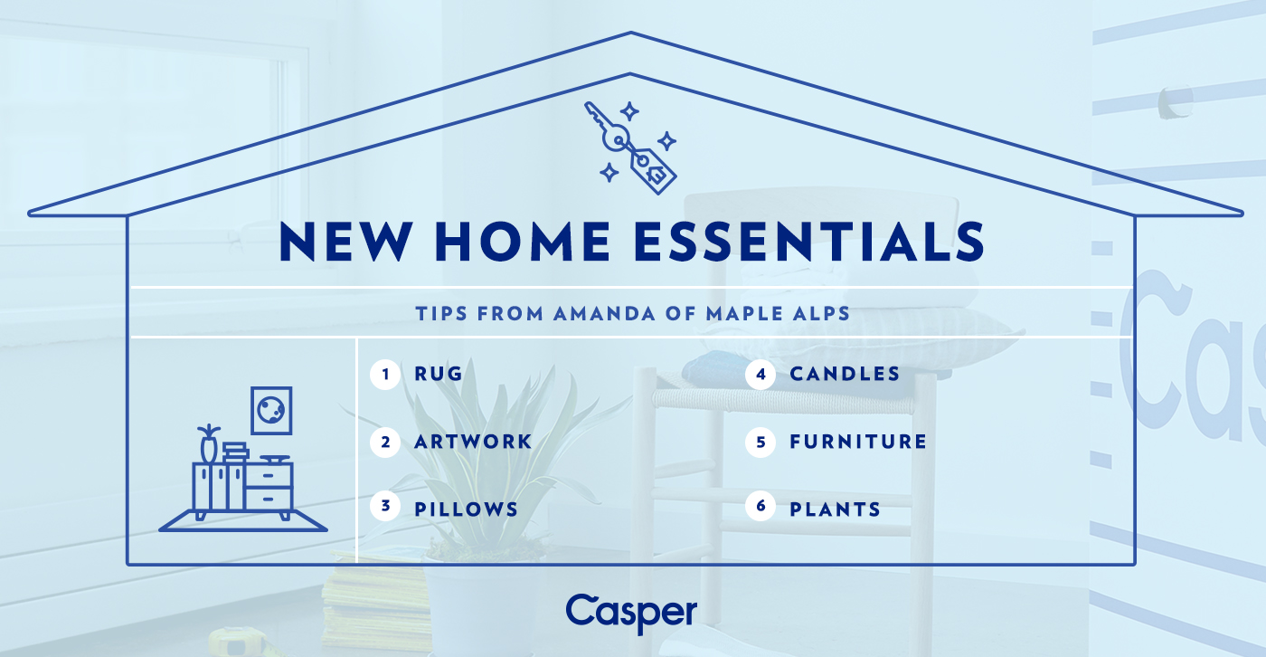 move in essentials for a cozy and personalized home | www.maplealps.com
