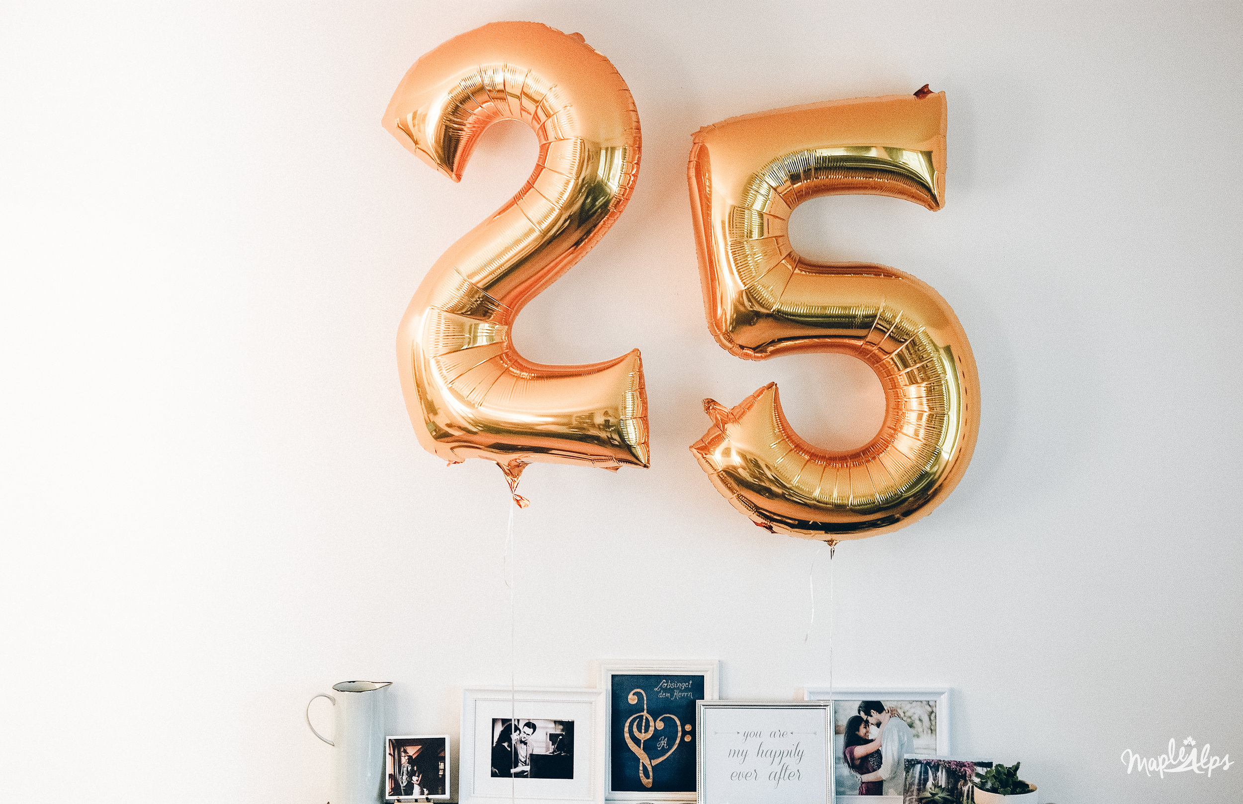 Thoughts on Turning 25 | www.maplealps.com