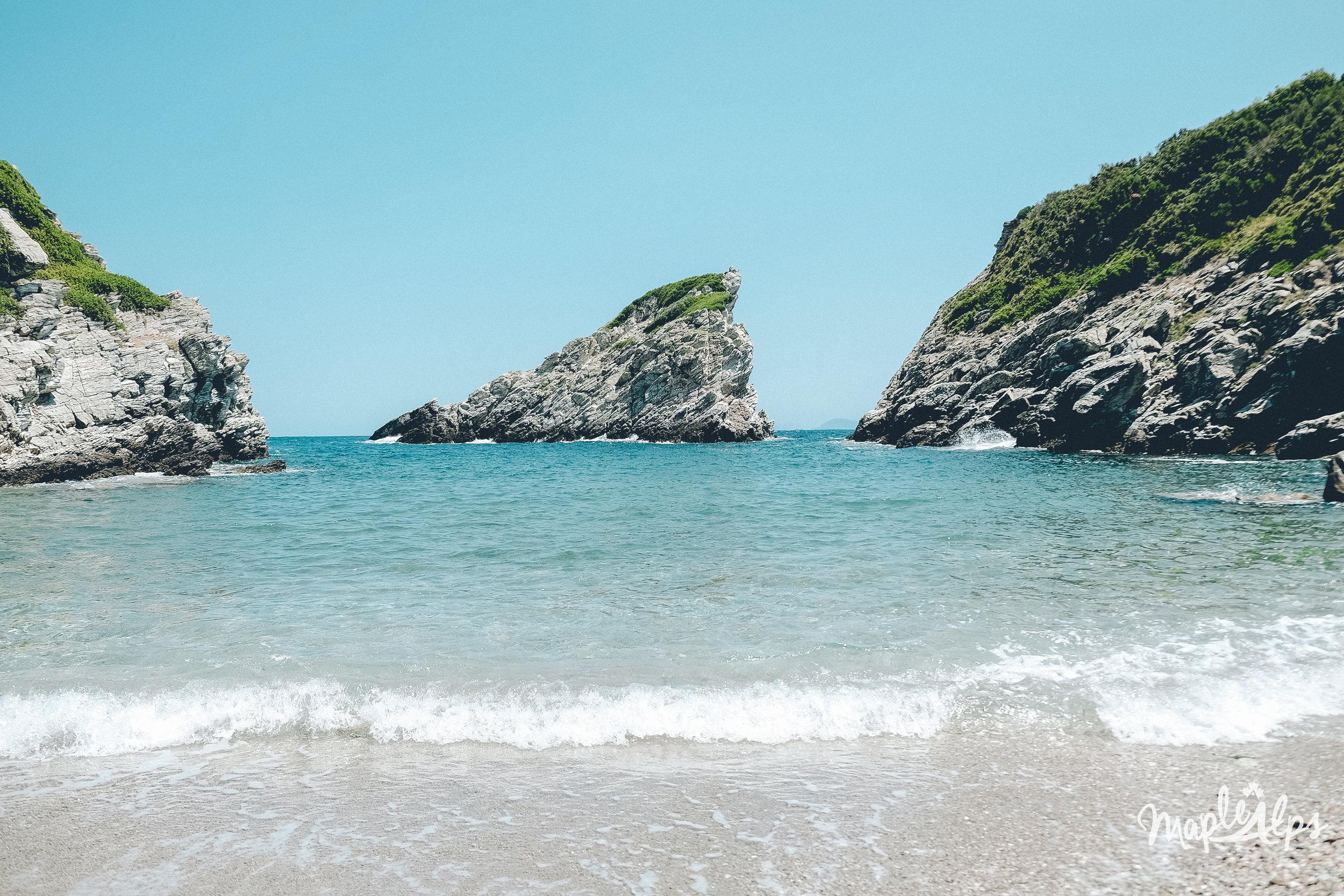 mama mia and a private beach | www.maplealps.com