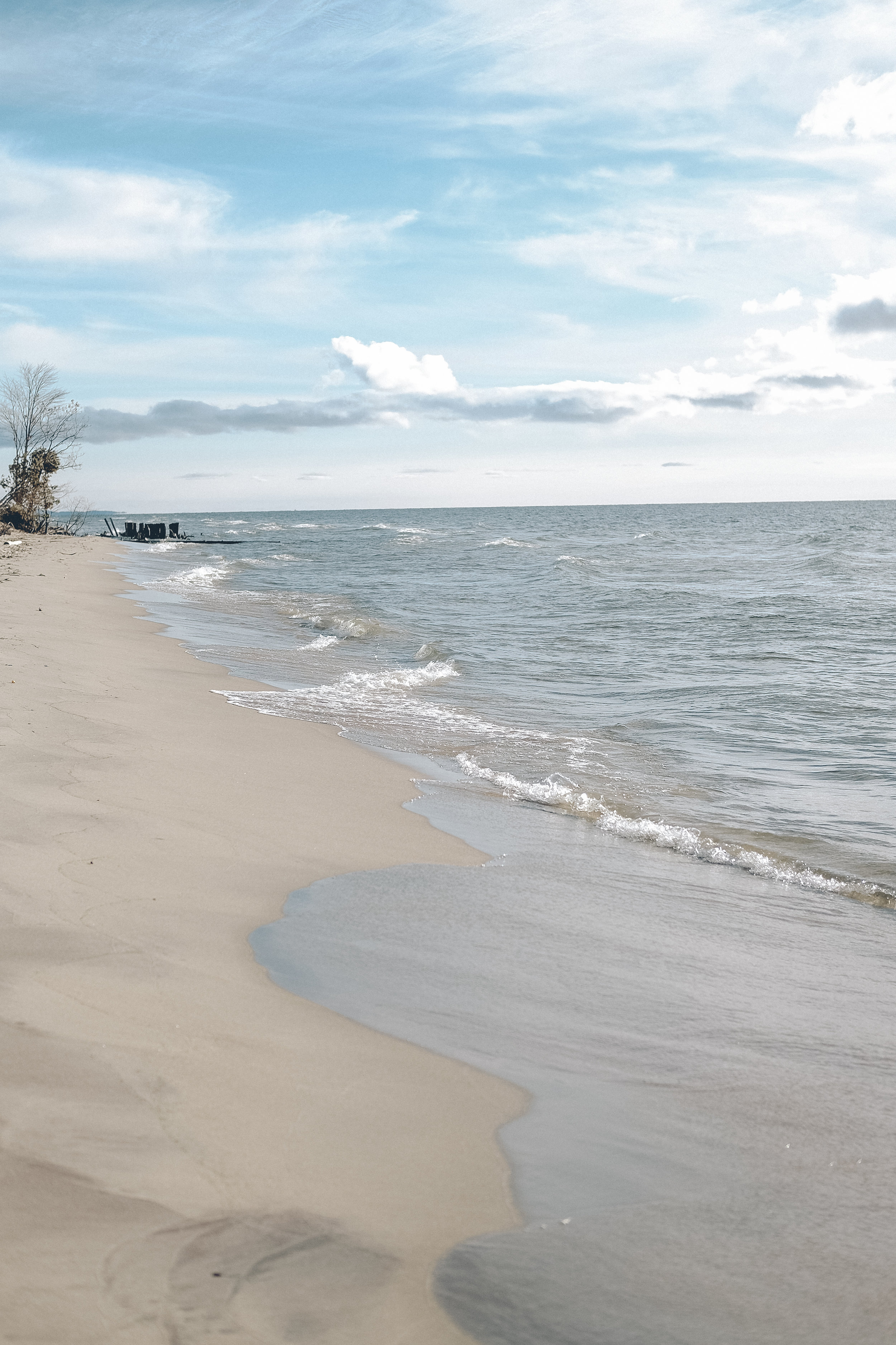 Lake Michigan in the Fall | www.maplealps.com