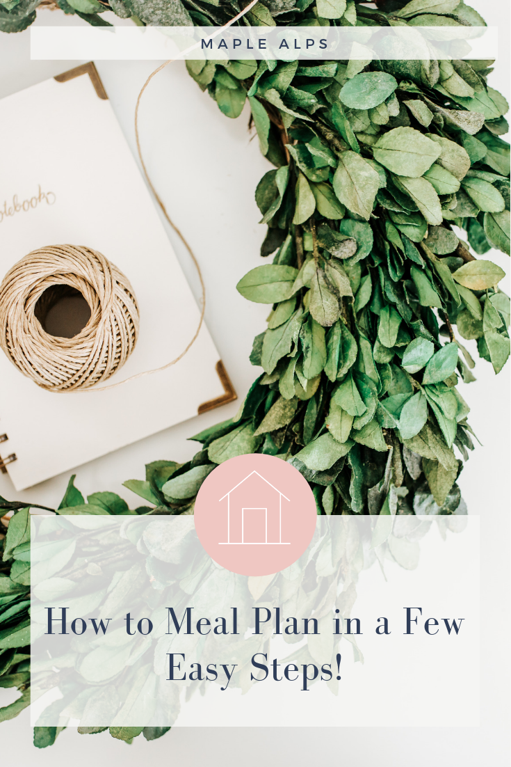 How to Meal Plan in a Few Easy Steps | www.maplealps.com