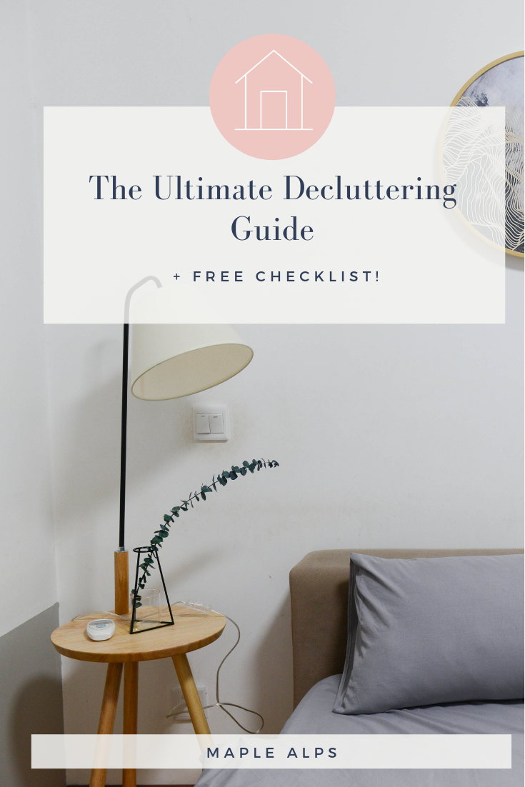 The Ultimate Decluttering & Deep Cleaning Guide for your Home! | www.maplealps.com