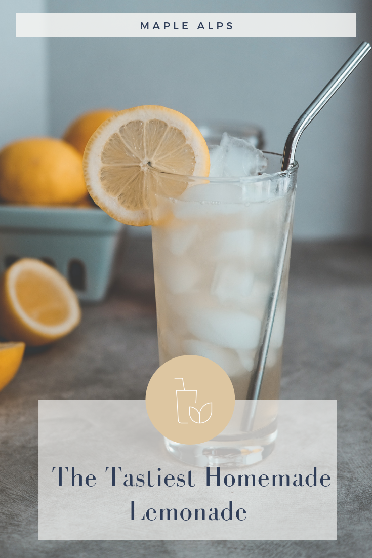 Fresh Homemade Lemonade | www.maplealps.com