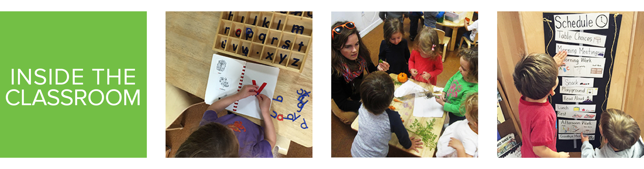 RED HOOK PLAYGROUP: INSIDE THE CLASSROOM