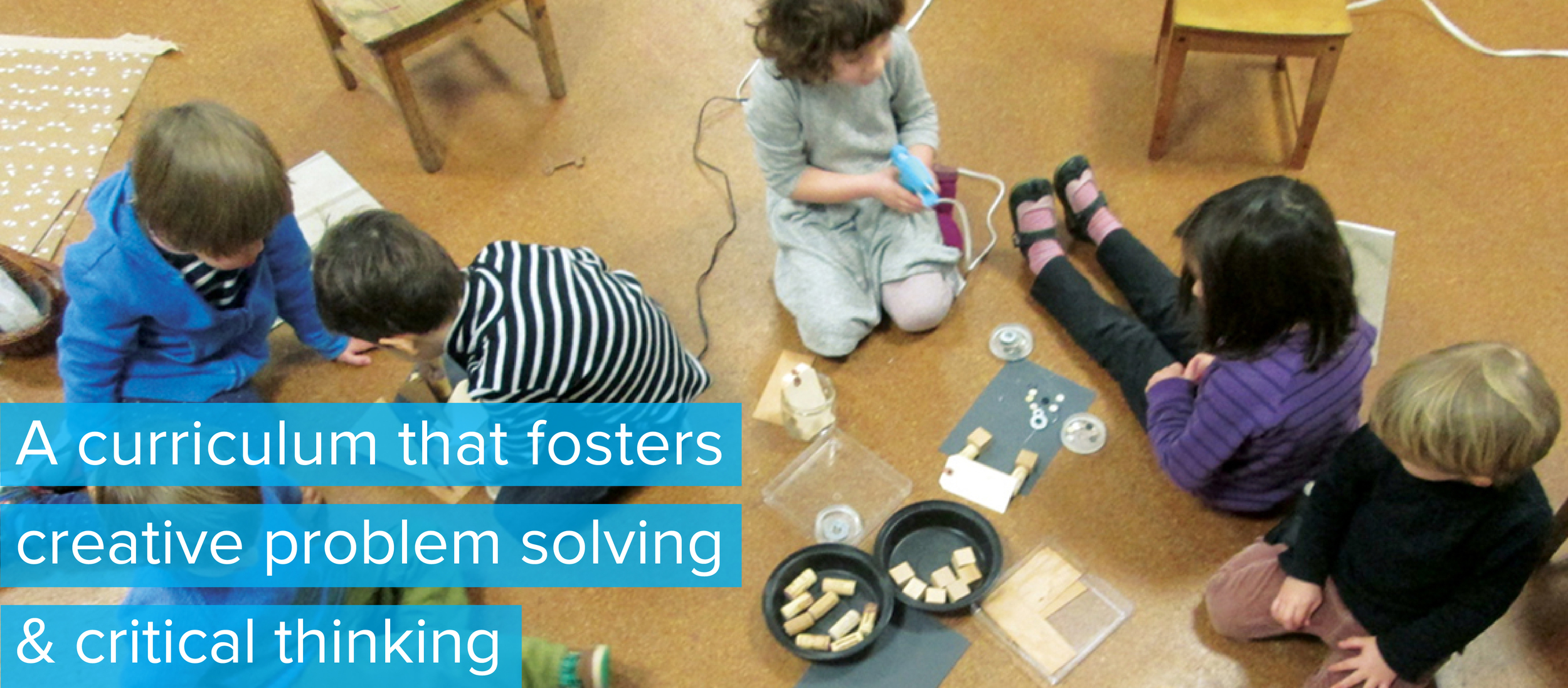 Red Hook Playgroup:  A curriculum that fosters creative problem solving & critical thinking