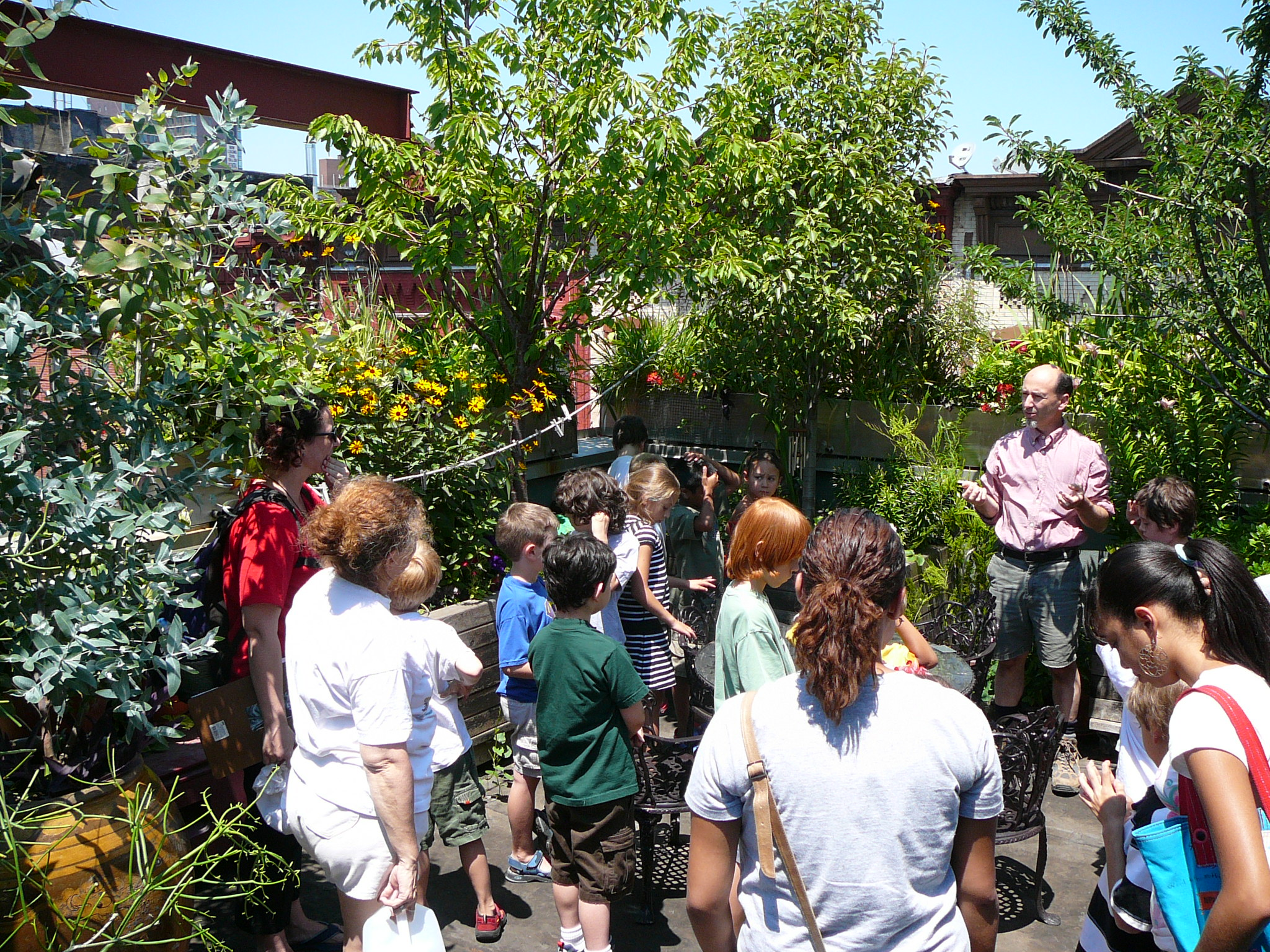 Paul A. Castrucci, Architects educates community youth on rooftop gardens, passivhaus, and solar power.
