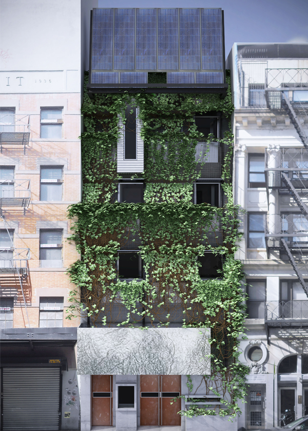 Paul A. Castrucci Architect's new home for ABC No Rio, a community arts organization, is slated to become the first commercial passive house building in New York City.