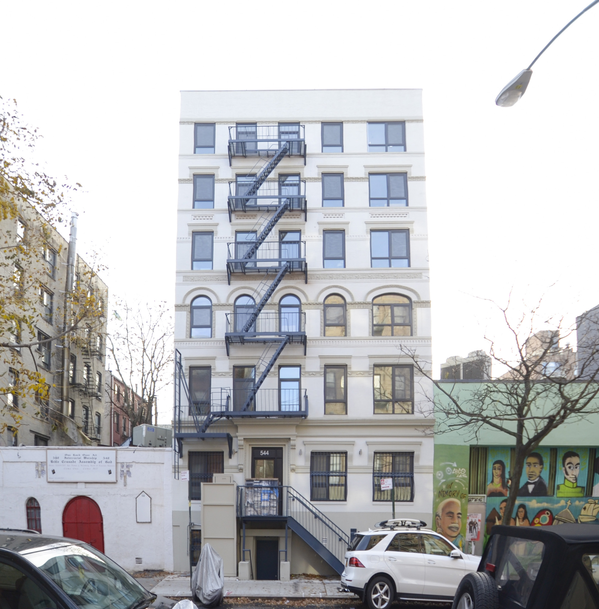 577 E 13th Street front facade (retrofit)