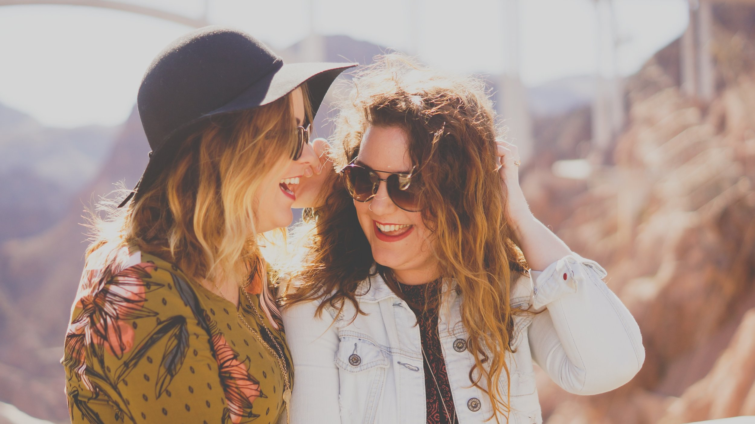 connecting with others eases anxiety