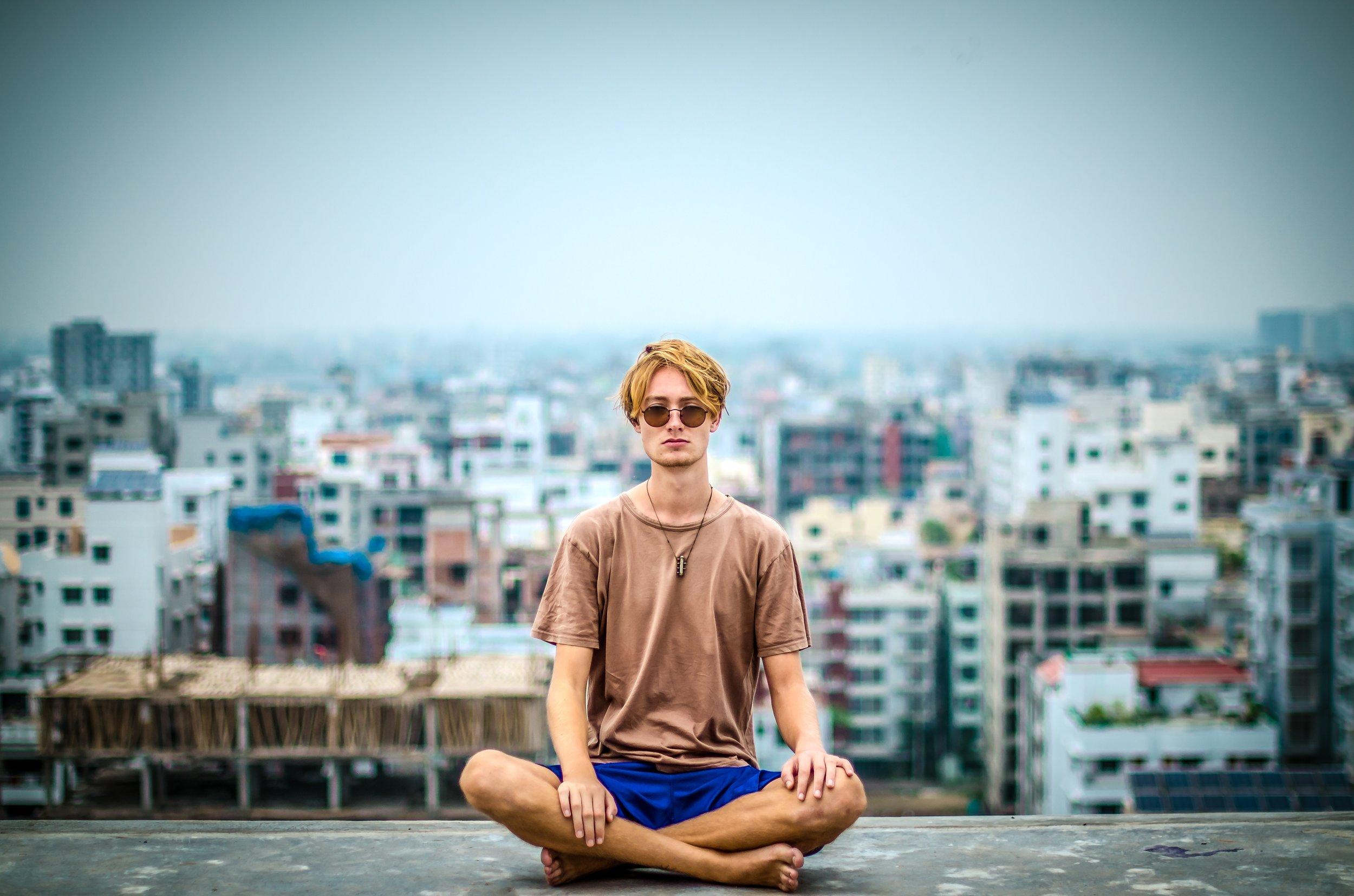 Meditation helps manage stress