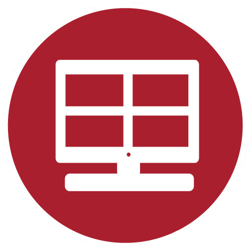process monitoring icon by ecsuptime