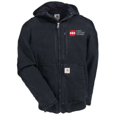 Carhartt Black Full Swing Armstrong Active Jacket.jpg