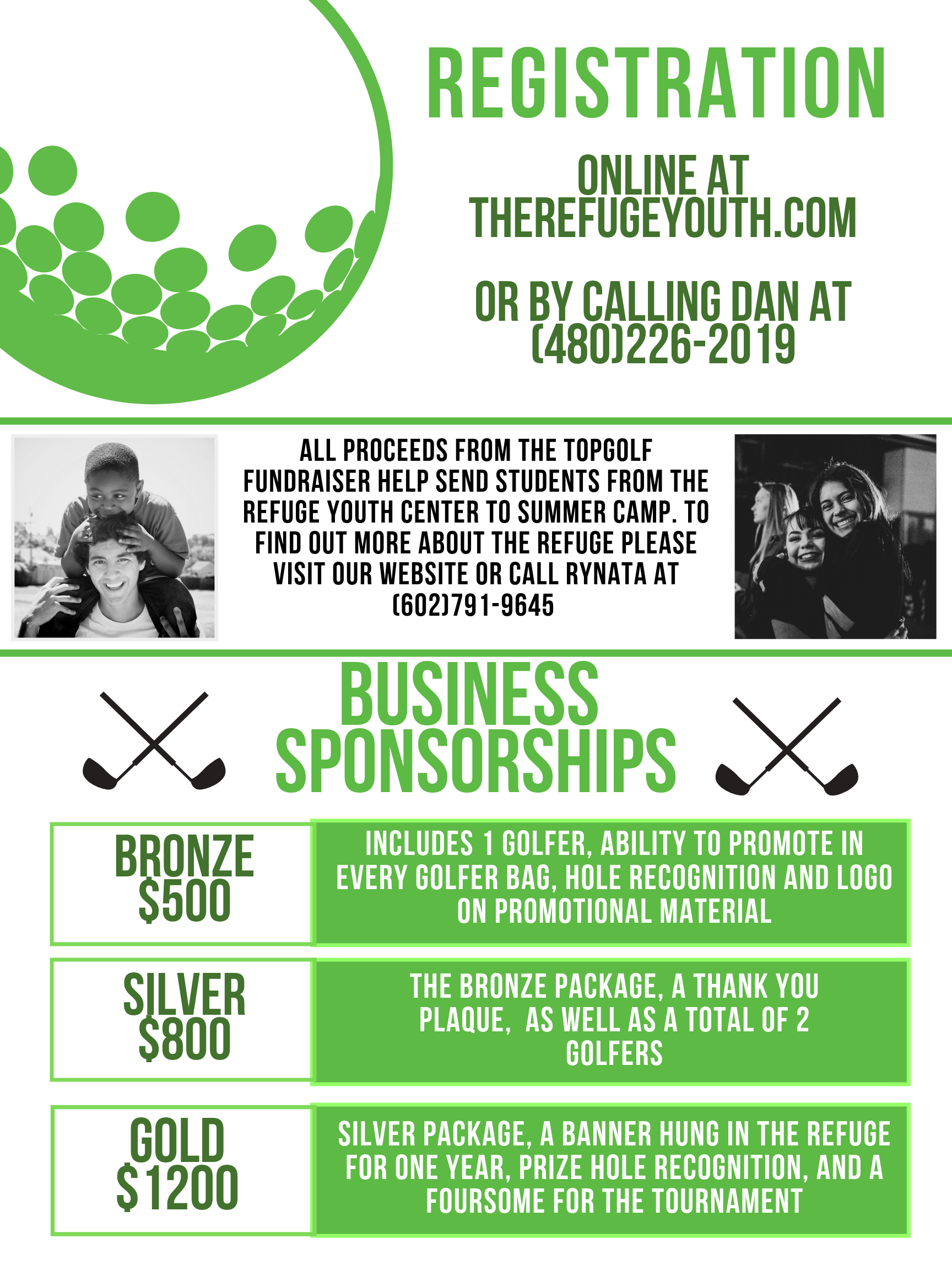 If you are interested in a business sponsorship, please fill out the form below: