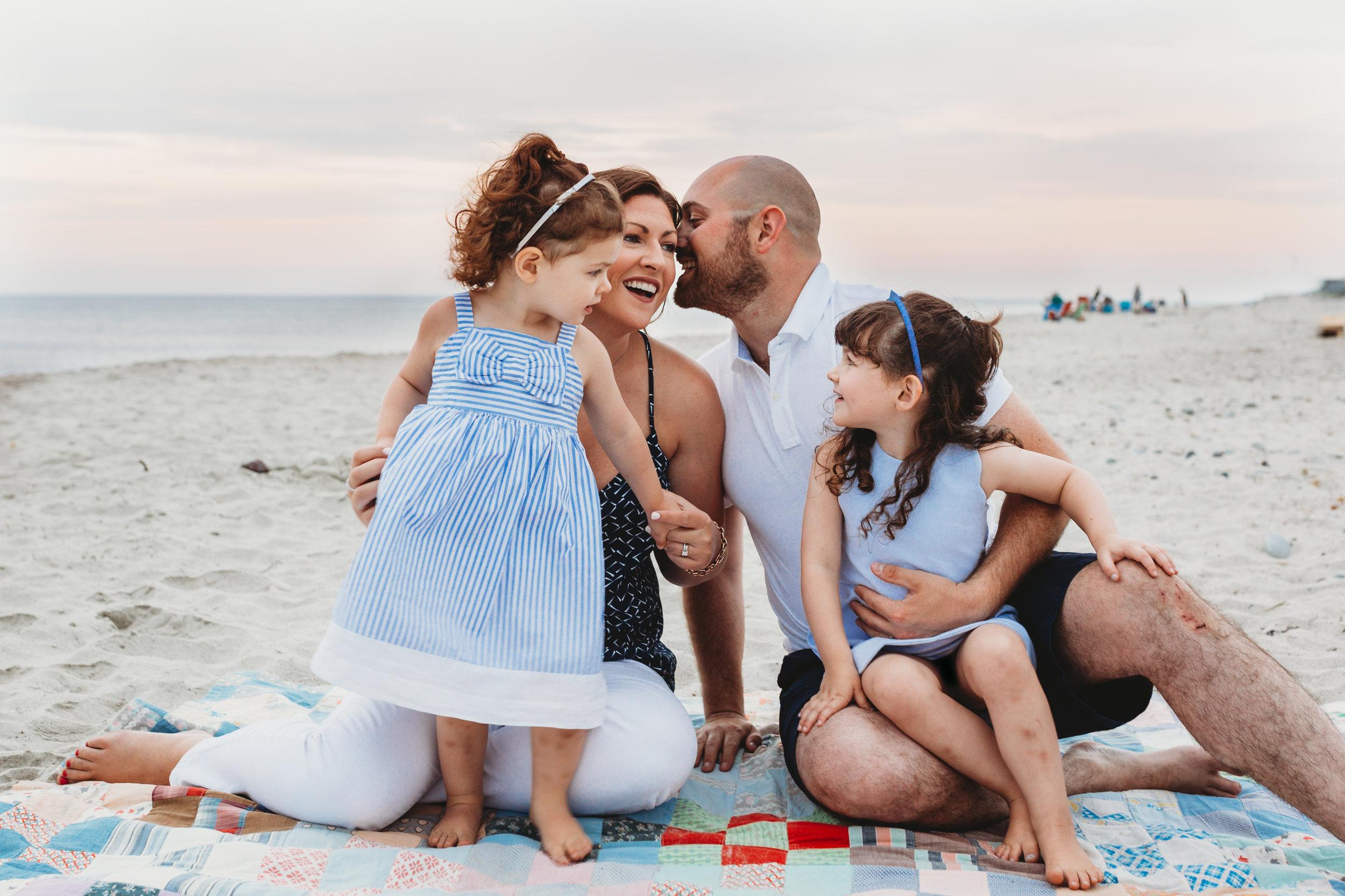 South Shore family portrait photographer