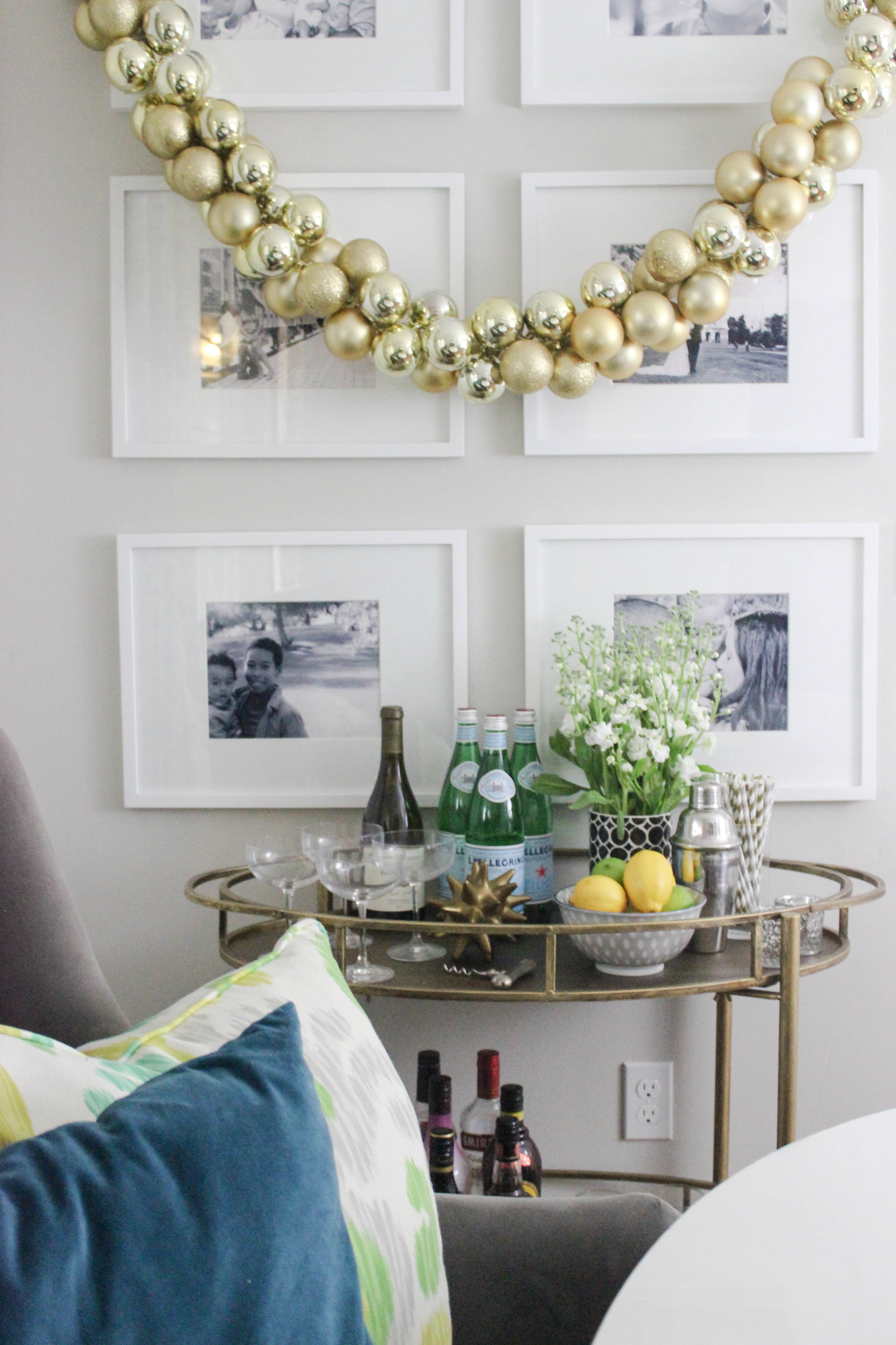 Styling A Bar Cart For Everyday Katrina Blair Interior Design Small Home Style Modern Livingkatrina Blair