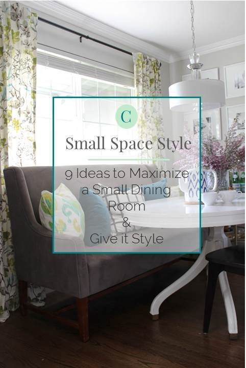 Small Home Style 9 Ideas To Maximize A Small Dining Room Give It Style Katrina Blair Interior Design Small Home Style Modern Livingkatrina Blair