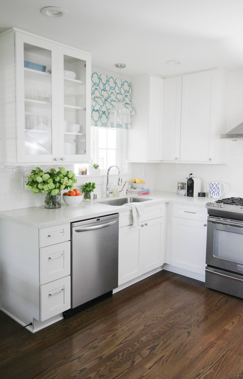 Home Tour My Kitchen Katrina Blair Interior Design Small Home Style Modern Livingkatrina Blair