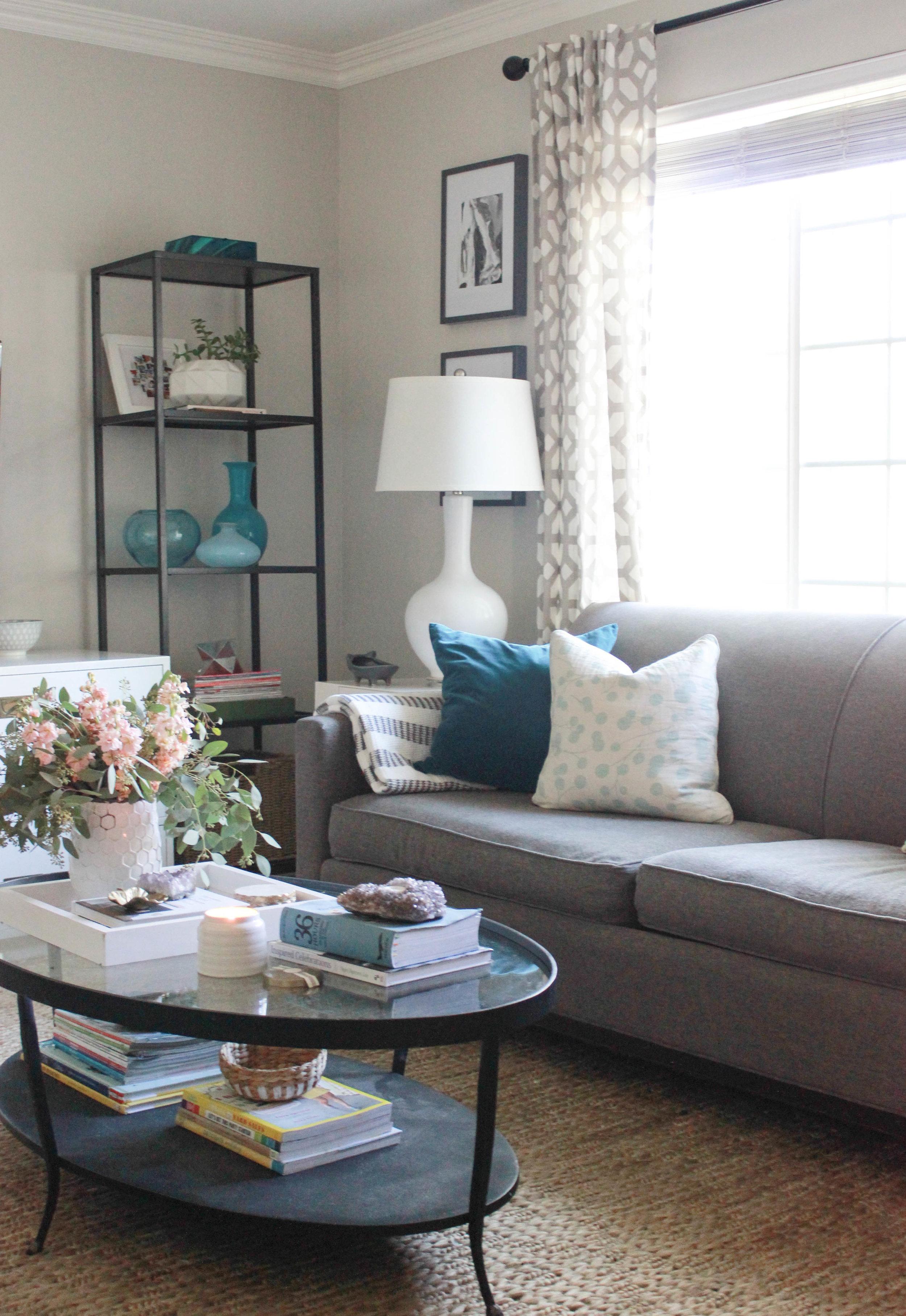 Living Room Update Jute Rug Addition Addiction Katrina