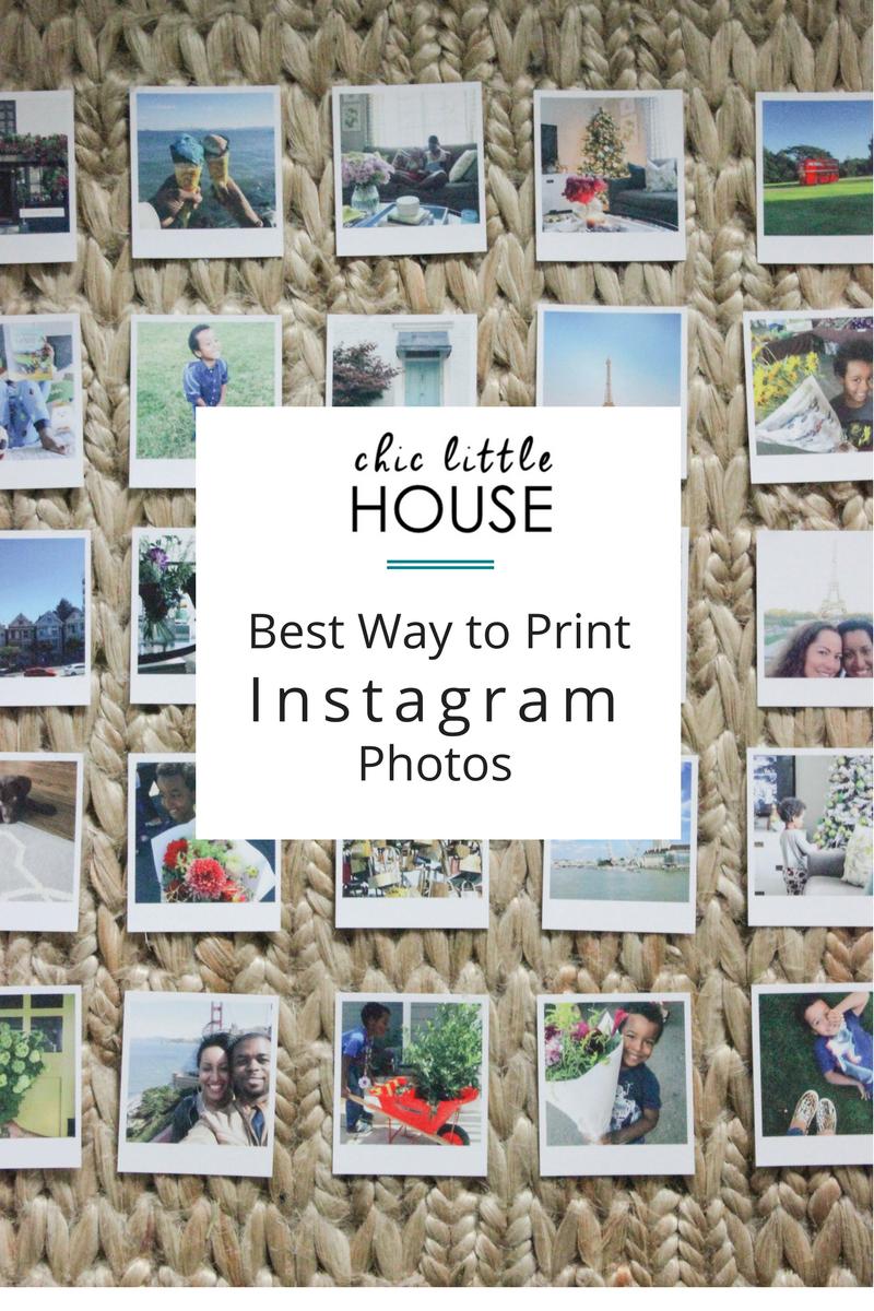 Best Way To Print Instagram Photos Katrina Blair Interior