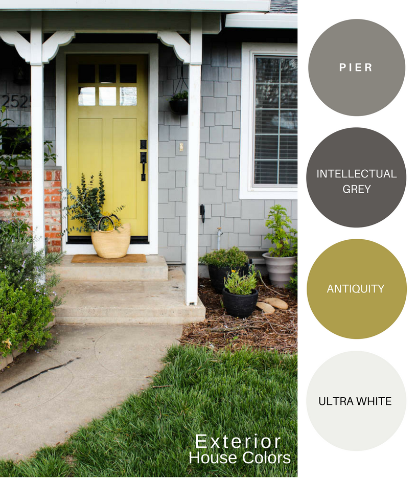 My Exterior Home Colors Katrina Blair Interior Design
