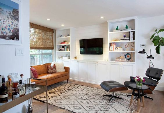 Diy Project Built In Bookcases Part, Bookcase Cabinets Living Room
