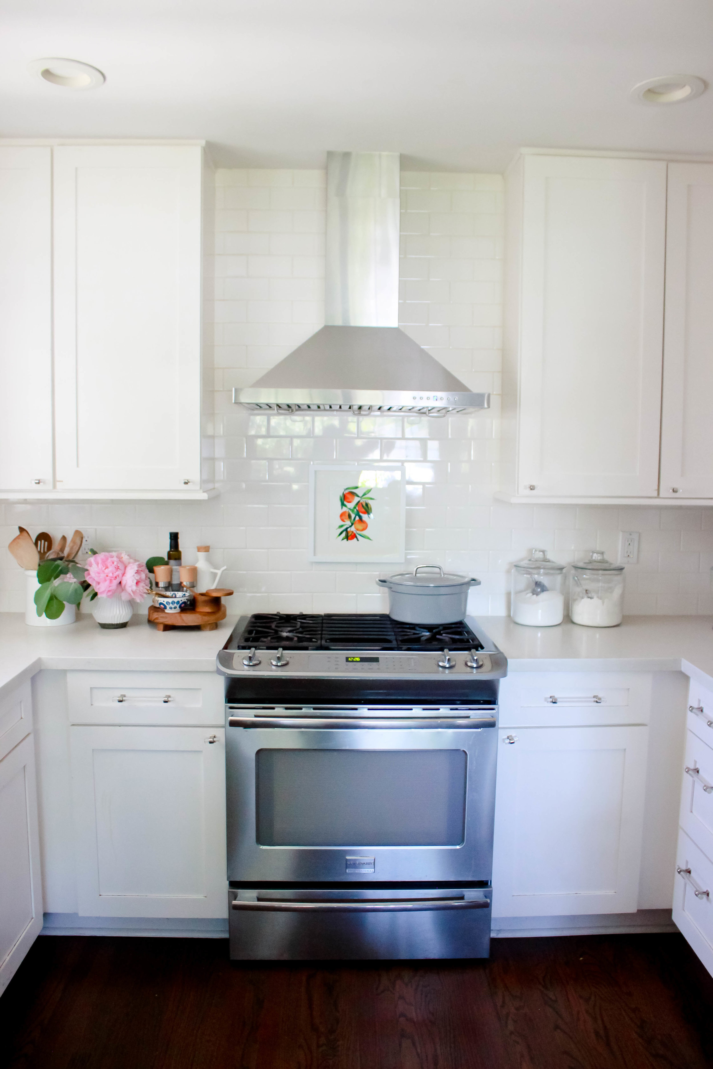 WHITE CABINETS: I Love My All White Kitchen, BUT There Have Been Plenty Of  Moments Over The Years When Iu0027m Over Washing Them To Stay Clean.