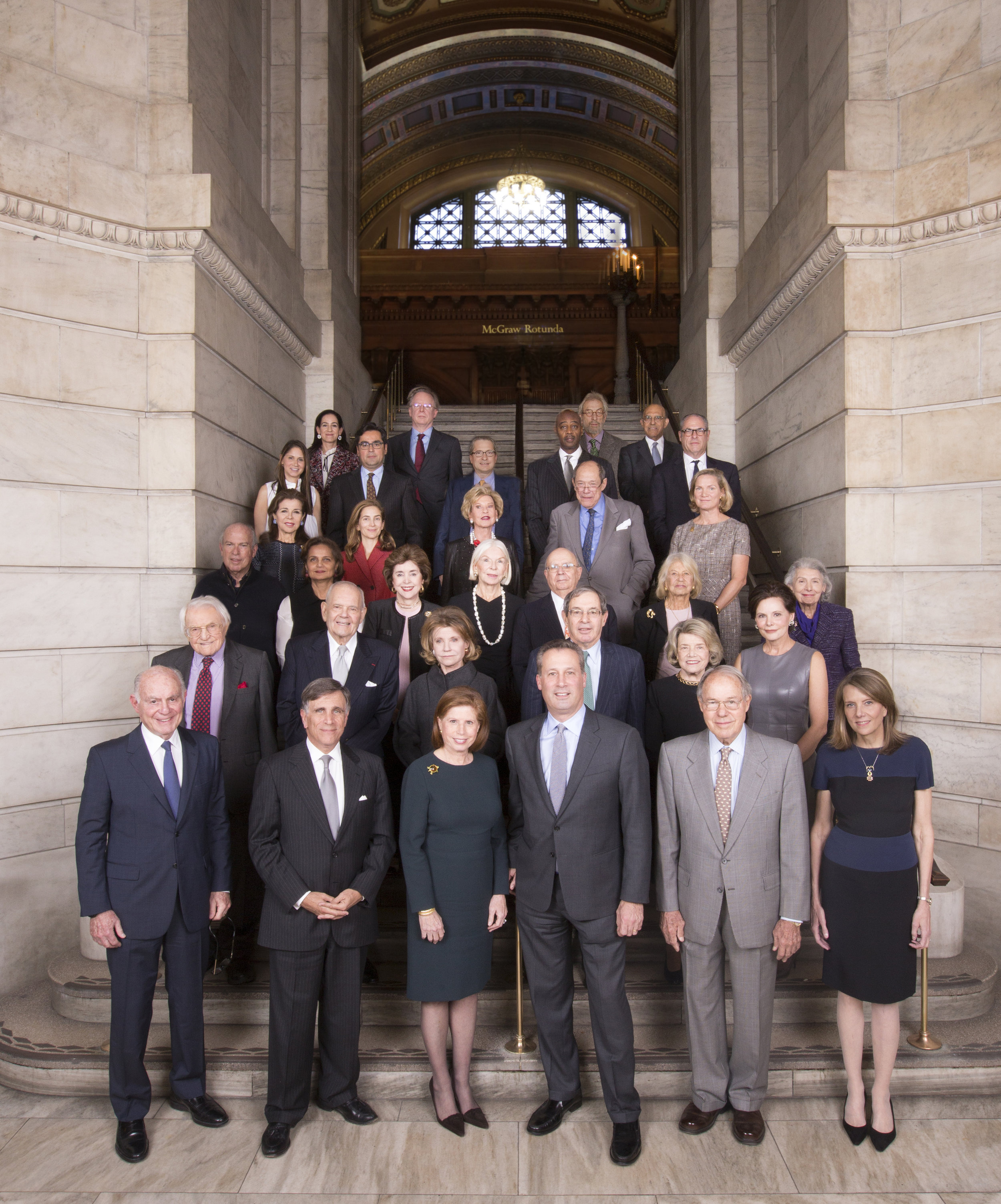 NYPL New York Public Library group portrait corporate event photography executive photos nyc