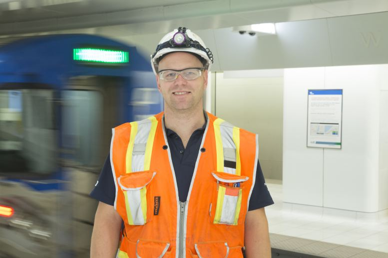Path Train worker Industrial photography by corporate photographer Michael Benabib.JPG