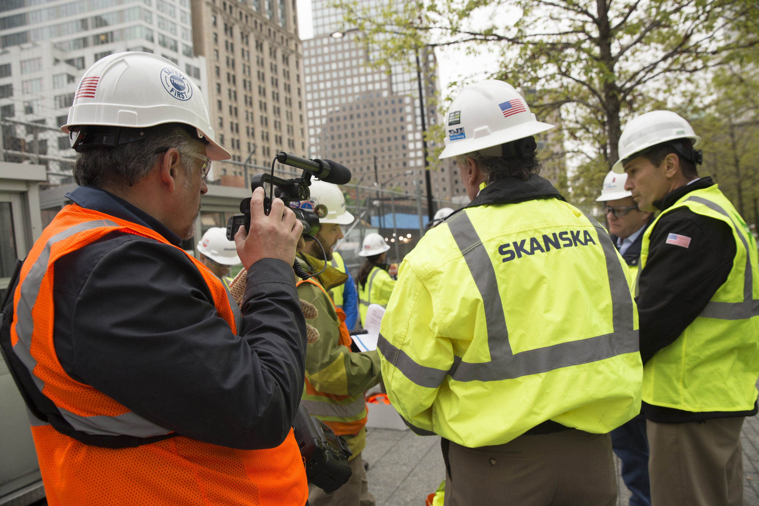 skanska film shoot at construction site Industrial photography by corporate photographer Michael Benabib.jpg