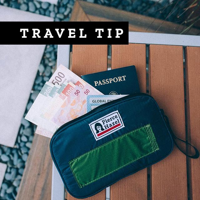 """Do yourself a favor: follow the talented Frankie. Handcrafted bags @fierce.hazel Repost: """"PRO TIP: Get foreign cash before you leave. You can order foreign currency from your local bank and can even do it online and have it sent to you. It usually takes 3-7 days so plan accordingly.  Although we're big on using a no-foreign transition fee credit card for the best rates, it's always good to have cash on hand in case of an emergency. Also, if it's a long flight or it's delayed heading to an ATM when you're tired or late at night is never a smart idea.  #protip #protraveltip #travelbackpack  #travelbag  #minimalistbag  #sustainable #designthinking #carrysmarter #explorecreate #outdoorbrand #emergingbrand #womenthatexplore #womenwhotravel  #womenthatexplore  #everydaycarry  #outsideisfree #livelifeoutside #creativefound #adventuretravel  #travelbag  #ecofashion  #upcycled"""" (via #InstaRepost @EasyRepost)"""