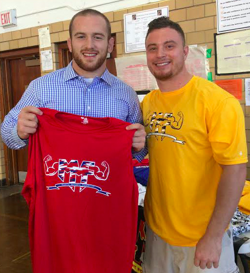 "Prior to the start of Beat the Streets-Trenton wrestling clinic, Olympic Champion Kyle Snyder took the time to meet with Muscle Movement Foundation (MMF) Founder, Rob DeMasi, to learn how the MMF has created an avenue for wrestlers to ""Pin Muscle Disease""."