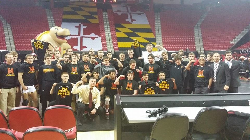 2015 University of Maryland Wrestling Team