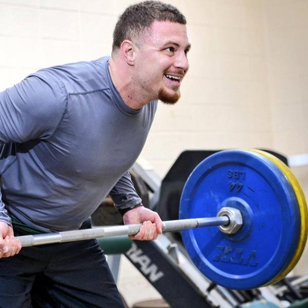 Muscle Movement Fdn. Founder, Rob DeMasi. Photo courtesy of Wilmington University.