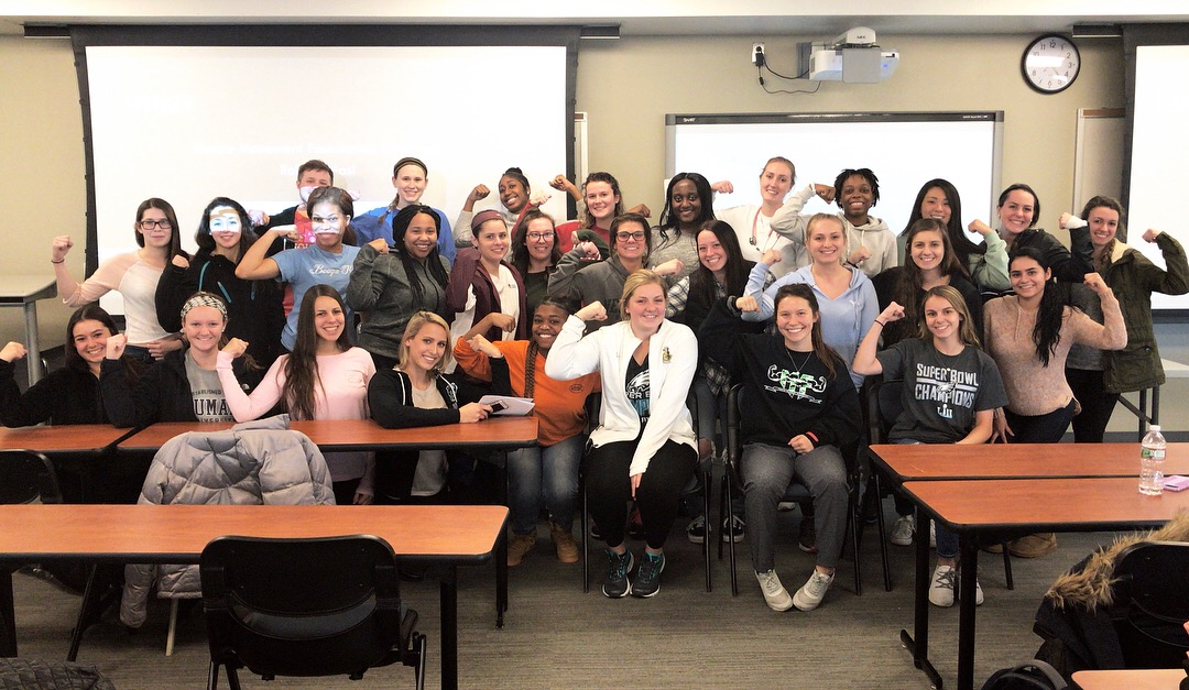 The Student Nursing Association at Neumann University (PA) invited MMF Founder, Rob DeMasi, to speak!