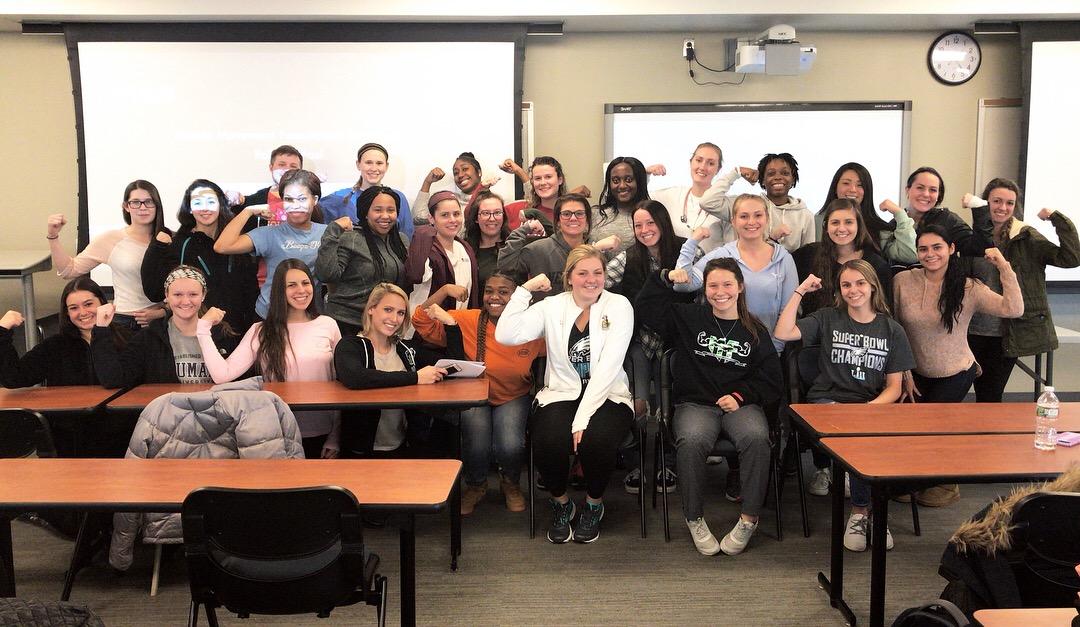 The Student Nursing Association at Neumann University (PA) invited MMF Founder, Rob DeMasi, to speak!