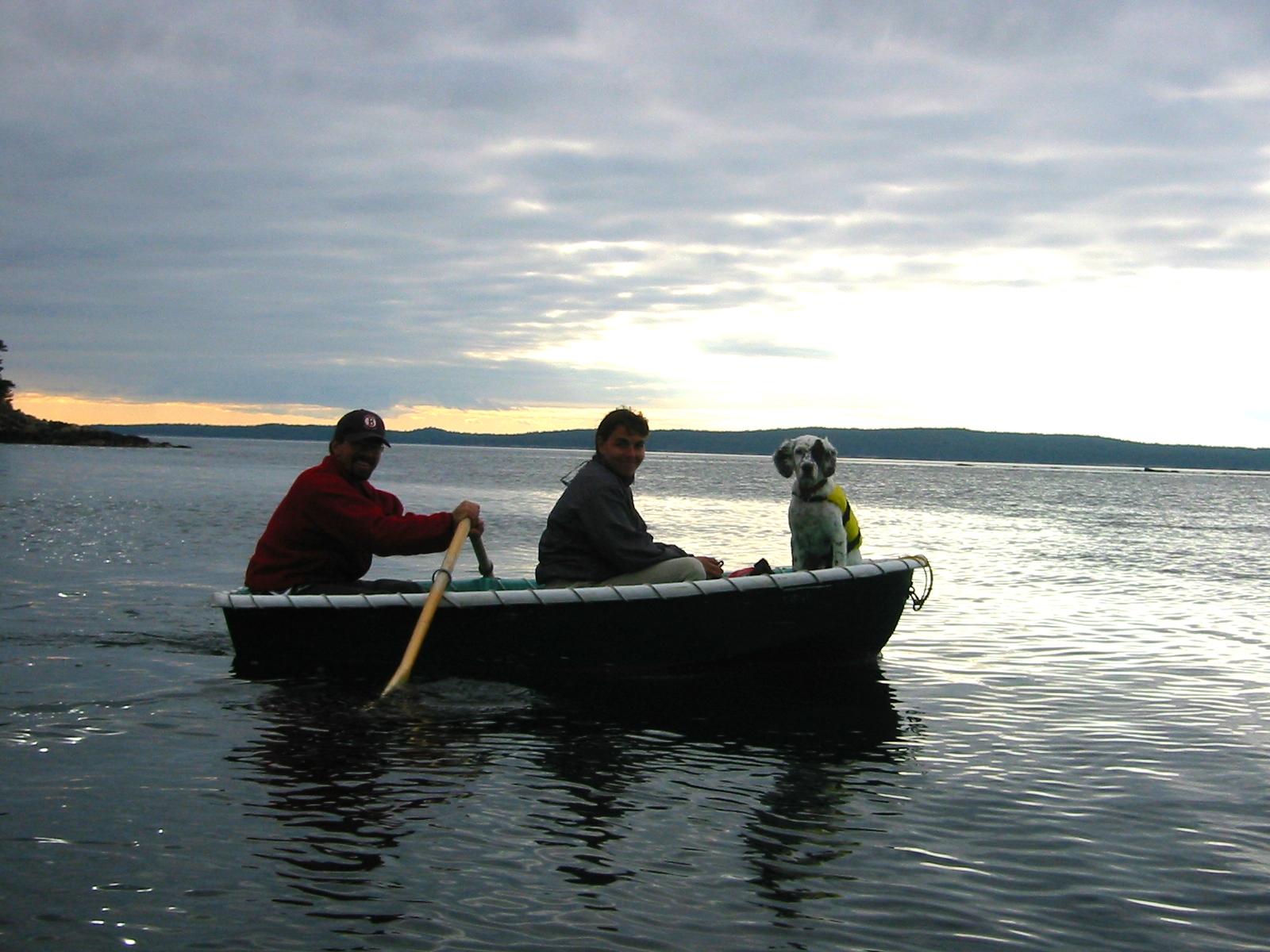 AdJen in boat.JPG