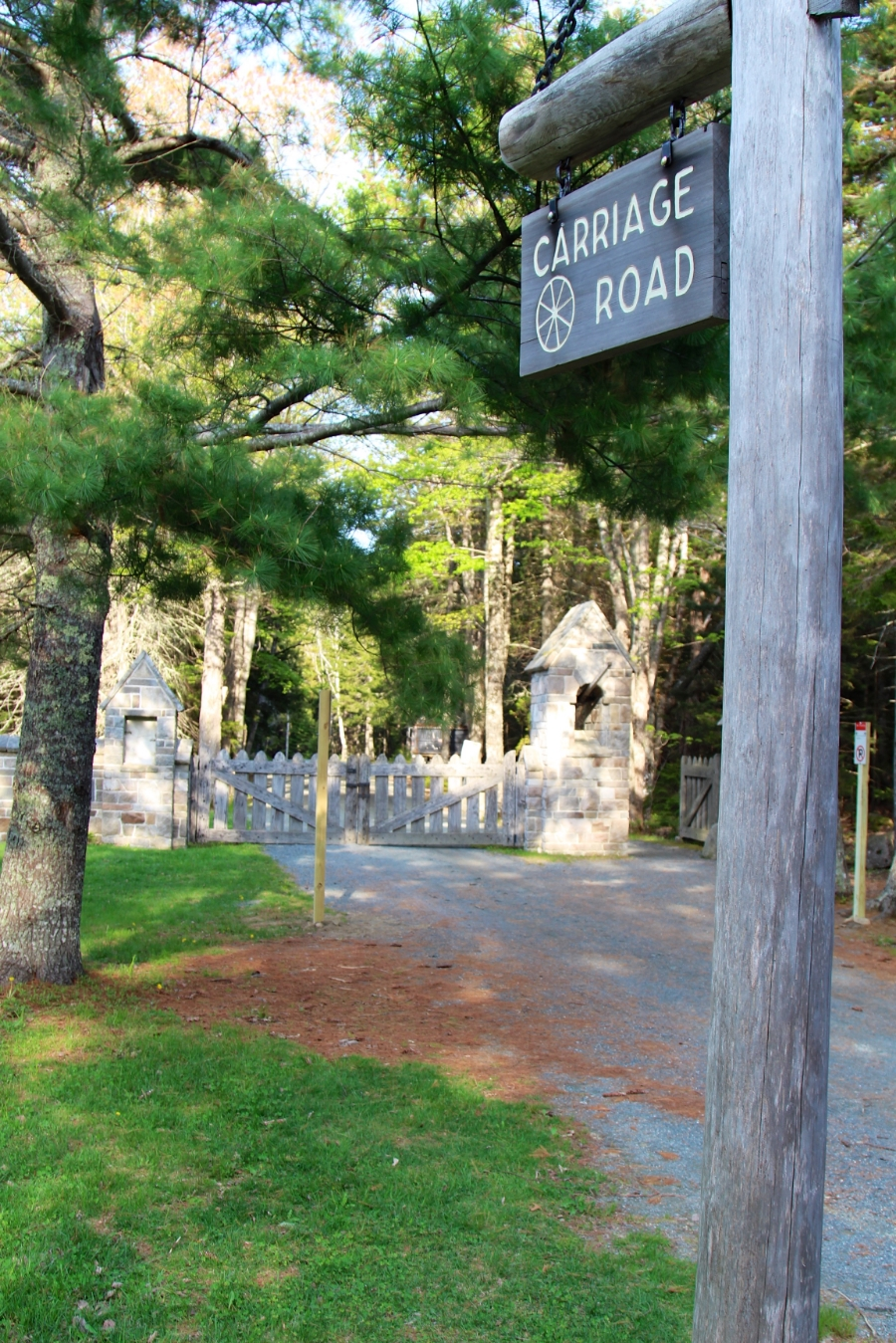 There are over 120 miles of carriage trails throughout Acadia National Park.